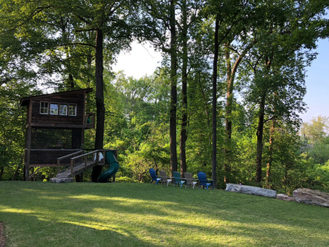Trailside Treehouse Lawn
