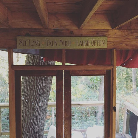 Things you should do in a #Treehouse ---