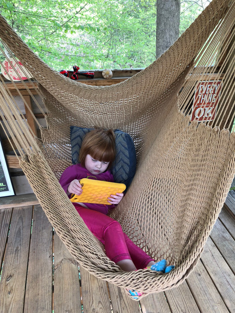 Trailside Treehouse Hammock Swing