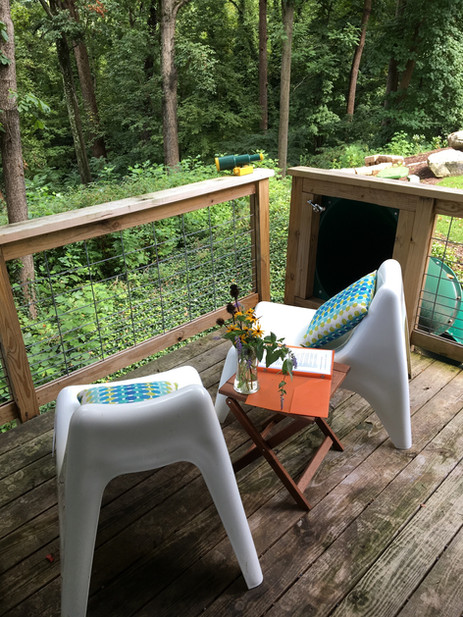 Trailside Treehouse View