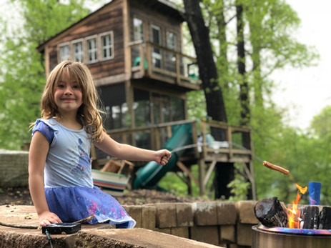Cook Your Own Meal in the Treehouse Firepit
