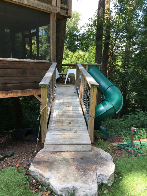 Trailside Treehouse Bridge