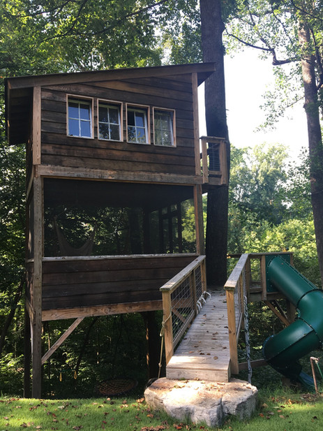 Trailside Treehouse Bridge