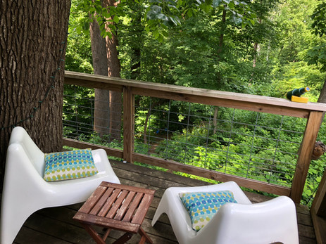 Relax on the Treehouse Deck