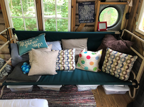Trailside Treehouse Lounging