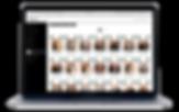FOTOBOX laptop with photo gallery