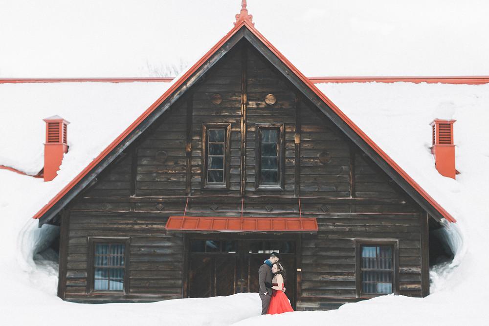 Hank & Velina Engagement(Pre-Wedding) in Hokkaido 北海道婚紗 美式婚紗