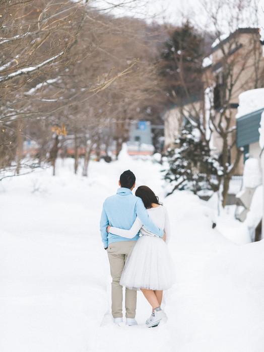 Jacqueline & KK Engagement(Pre-Wedding) Hokkaido 北海道婚紗 美式婚紗