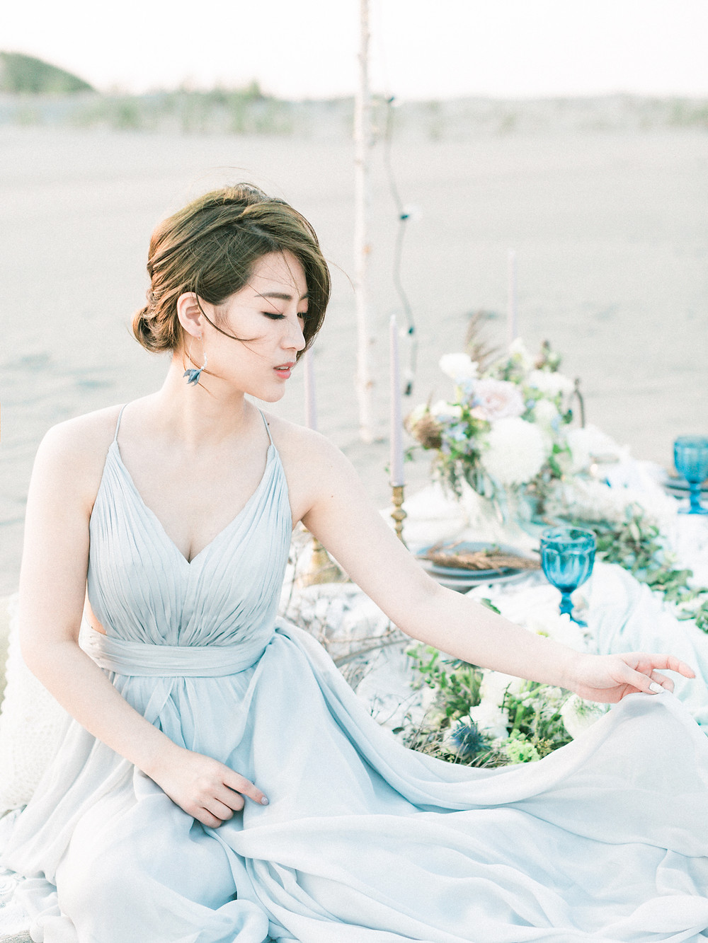 Ethereal West Coast Bridal Inspiration in Taiwan Arther Chen Photography