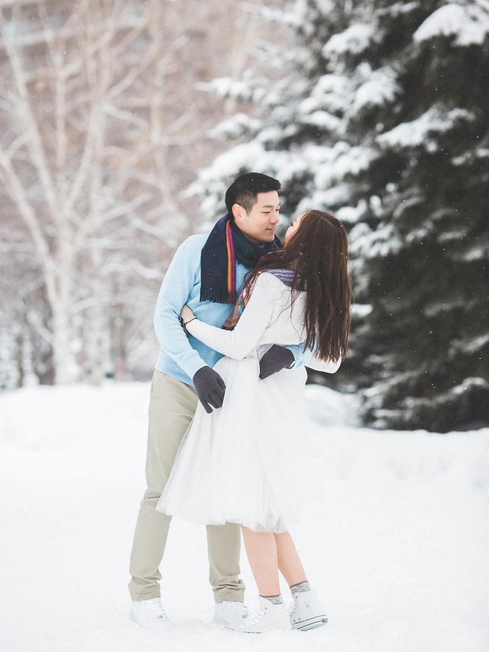 北海道婚紗 美式婚紗 Arther Chen Photography Jacqueline & KK Engagement(Pre-Wedding) in Hokkaido
