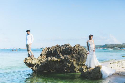 蘆薈&家均 Elopements Wedding   Boracay, Philippines 長灘島 美式婚禮婚紗
