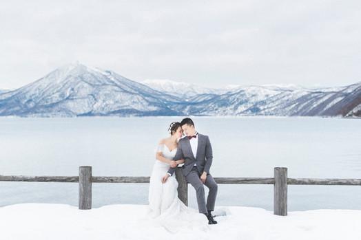 Hank & Velina Engagement(Pre-Wedding) Hokkaido 北海道婚紗 美式婚紗