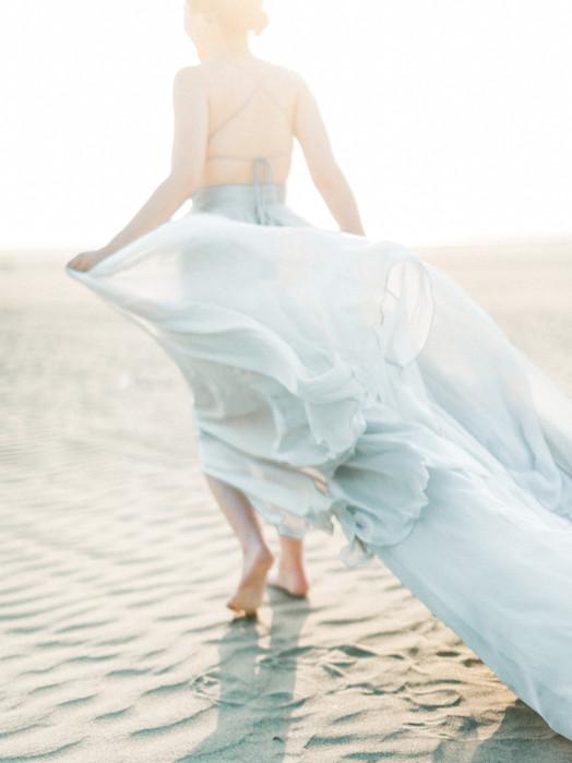 Ethereal West Coast Bridal Inspiration in Taiwan  靈感創作 美式婚禮