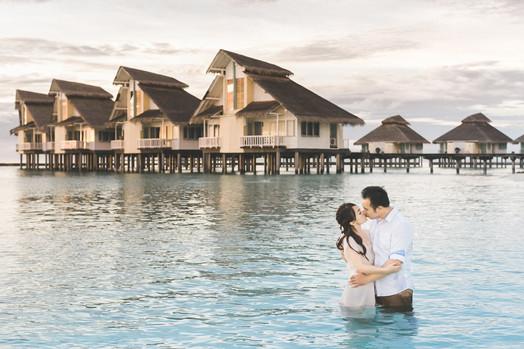 Shine & TJ Engagement (Pre-Wedding)   Maldives 馬爾地夫婚紗 美式婚紗