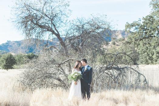 Kevin & Ting Elopement Wedding Malibu Creek Park, LA 美式婚禮婚紗