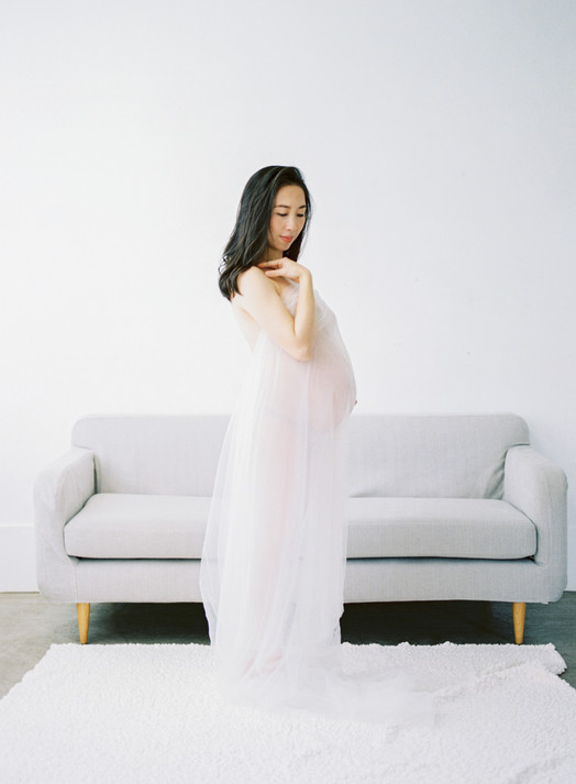 Nora Maternity Boudoir Portrait 孕期閨房寫真