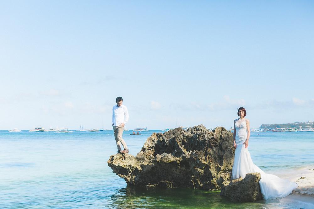 蘆薈&家均 Elopement Wedding Boracay, Philippines Arther Chen Photography 長灘島婚禮