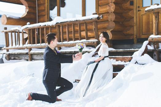 Peggy & ByMa Engagement (Pre-Wedding) Hokkaido 北海道婚紗