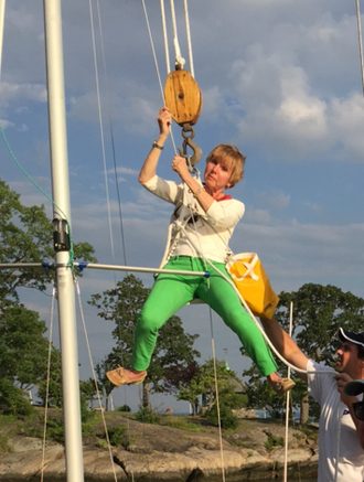 Our Fearless Commodore Pam Michels