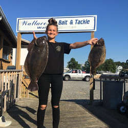 Wallace's Bait & Tackle - Flounder
