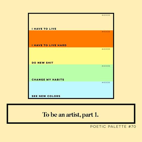 Poetic Palettes 70 - 79