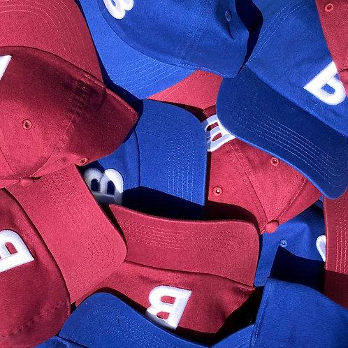 BIG BABY CAP( 2色: BLUE / WINE RED)