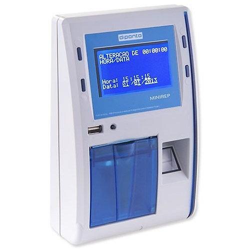 Relógio de Ponto Eletrônico MiniRep com Biometria