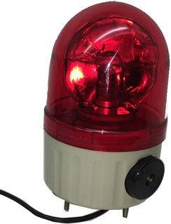 Luz de Emergência - Sinalizador Luminoso Giroflex Lte 1082 j -110v - Red