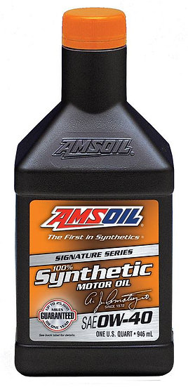AMSOIL Signature Series 0W-40 Synthetic Motor Oil