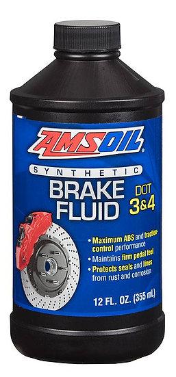 AMSOIL DOT 3 & 4 Synthetic Brake Fluid