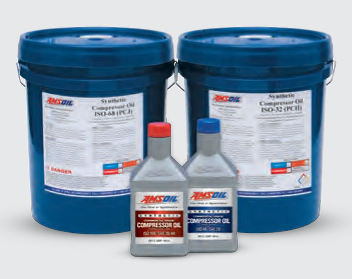 AMSOIL ISO 46, SAE 20 Synthetic Compressor Oil