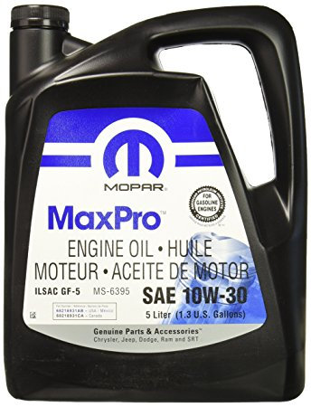 Mopar MaxPro 10W-30 Engine Oil