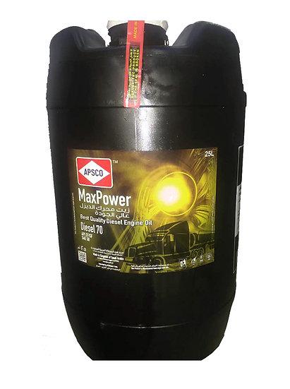 APSCO MaxPower Diesel 70 API CF/SF SAE 50