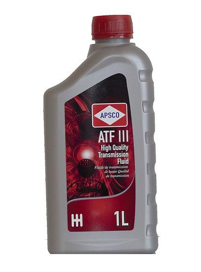 APSCO ATF Dexron III High Quality Transmission Fluid