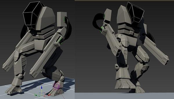 Robot Process Render