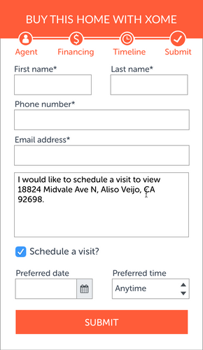 Submit Form date