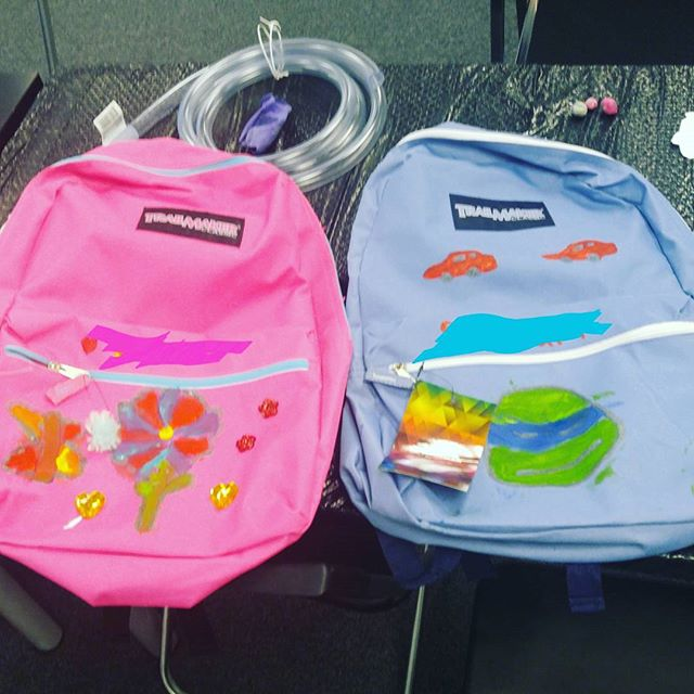 Tonight ended our Back-to-School DIY STEM Night. Check out some of the bookbags made tonight