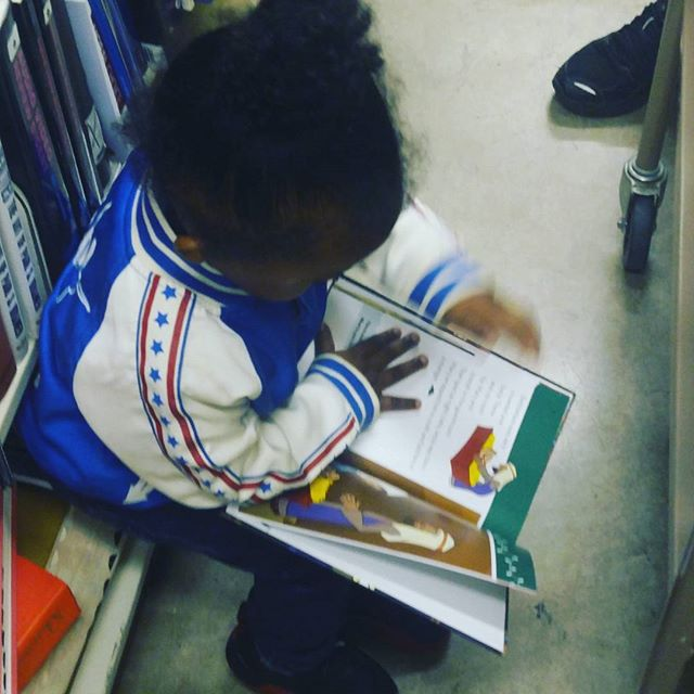 It starts at home. At 2, my son loves to read