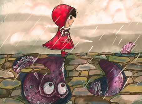 Book Reveal! Myla and the Rainy Day Octopus!