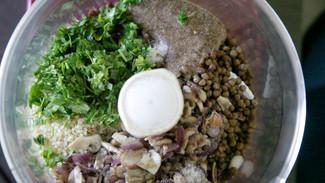 Albondigas de lenteja | Lentil and quinoa meatballs