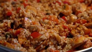 Vegan Paella - Arroz Buenaventura