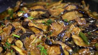 Aubergine Curry   Curry de berenjenas