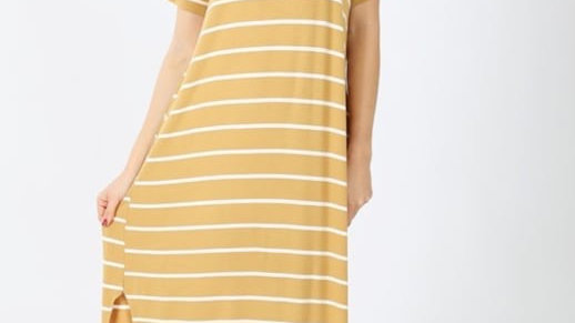 Plus Lt. Mustard Cook Out Maxi