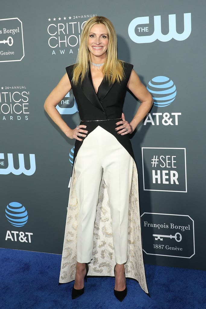 Julia Roberts at the 2019 Critics Choice Awards