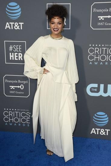 Indya Moore at the 2019 Critics Choice Awards