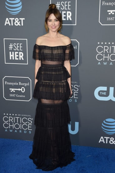 Linda Cardellini at the 2019 Critics Choice Awards
