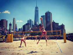 Took 3rd after a loss from Kerri Walsh and April Ross. Amazing experience playing against the best o