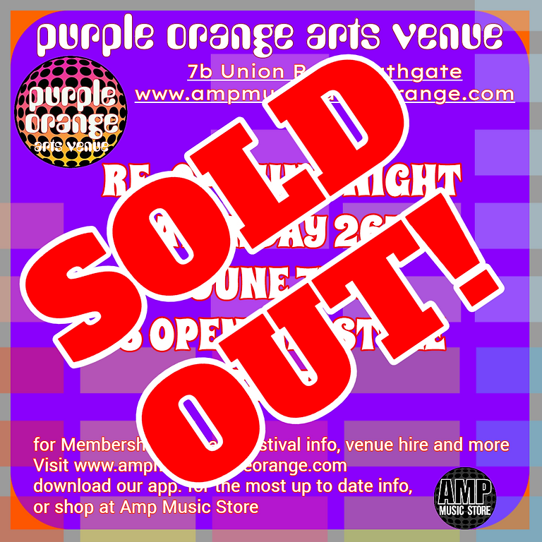Purple Orange Re Opening night