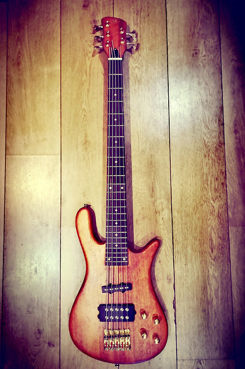 Sx 4 or 5 string arch body bass