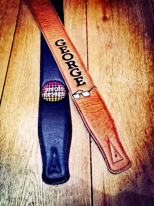 Personalised Guitar straps